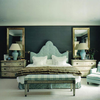 Beautiful symmetry in the bedroom
